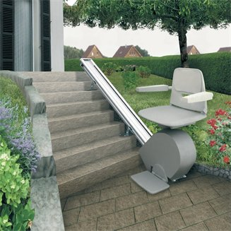 exterior stair chair lift. Delighful Lift In Exterior Stair Chair Lift R
